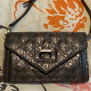 Guess Silver Original crossbody handbag